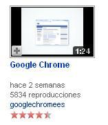 rating de videos en youtube